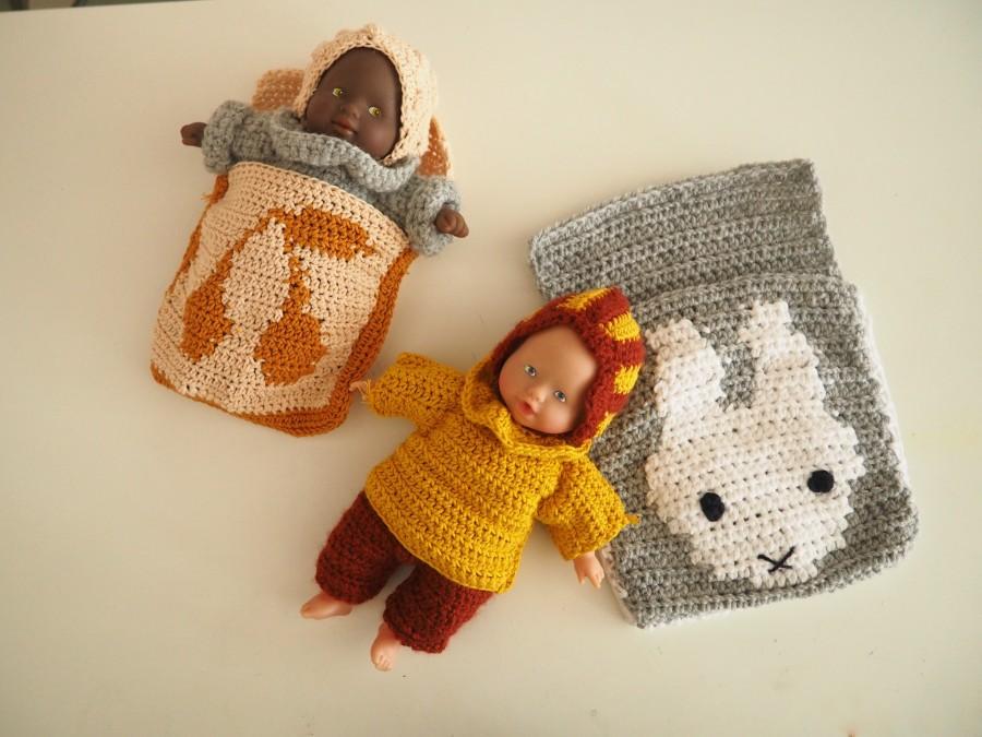 Les petits habits de poupée : Le Pull col Pierrot (tuto2)