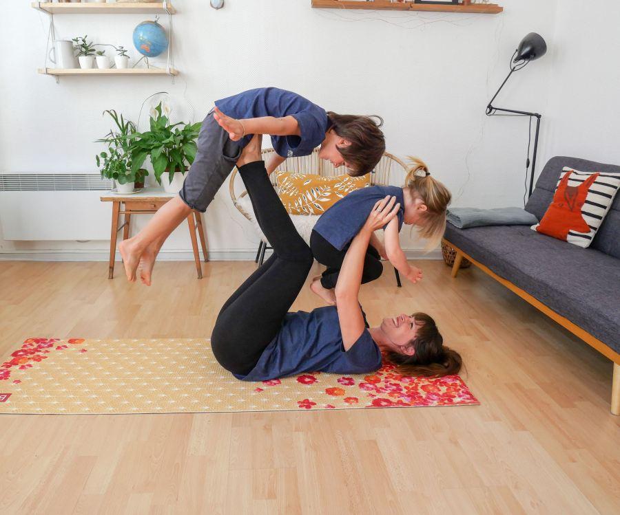 Du yoga avecBaya